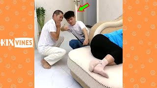 Funny videos 2021 ✦ Funny pranks try not to laugh challenge P169