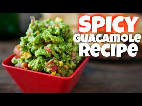Spicy Guacamole recipe - keto diet avocado recipes - aguacate - meal prep - ketogenic healthy recipe