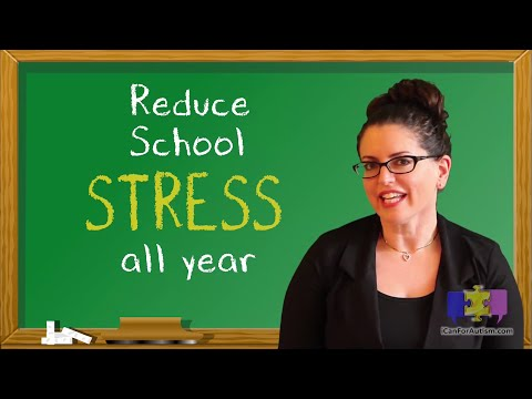 Ways to Reduce School Stress for your Child w/Autism