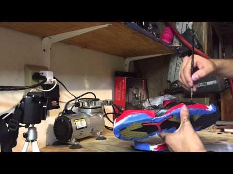 Sole swap tutorial part 3 (midsole Repaint!)