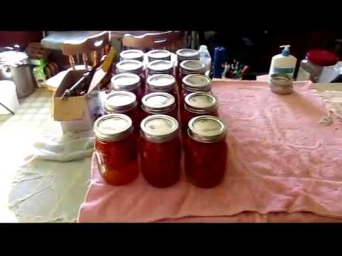 Canning Diced Tomatoes (Raw Pack)