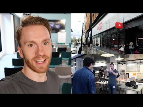 The NEW YouTube Space London!