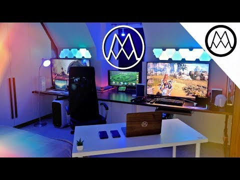 COLOSSAL $20,000 PC Gaming Setup  [2017 - 2018]