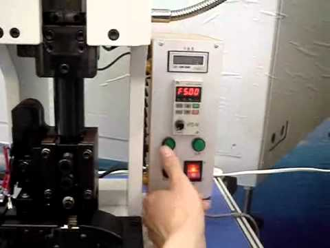 TCM 20 frequency  conversion controlling series semi automatic solution for terminal crimping