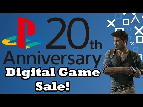PlayStation 20th Anniversary Sale: Digital Games