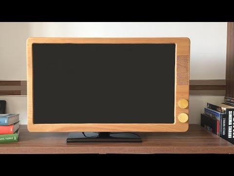 Converting Led TV to Retro TV - Led TV yi Nostaljik TV ye Dönüştürme
