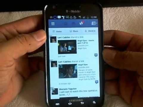 Galaxy S2 Facebook Hands-on