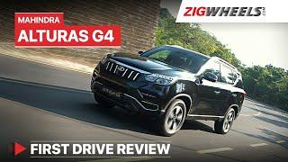 Mahindra Alturas G4 Review   Take a bow, Mahindra! 👏   ZigWheels.com