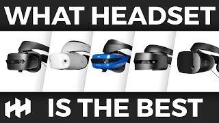 Which NEW Windows MR Headset feels best?
