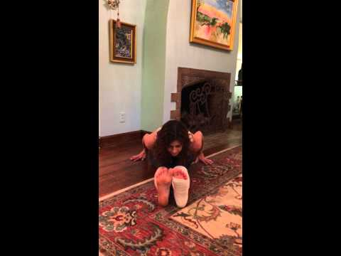 Yoga Sequence for a Broken Leg/Ankle/Foot - by Lara Falberg