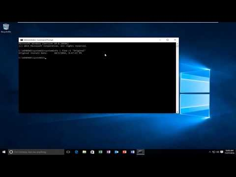 Find Out When You Originally Installed Windows 10