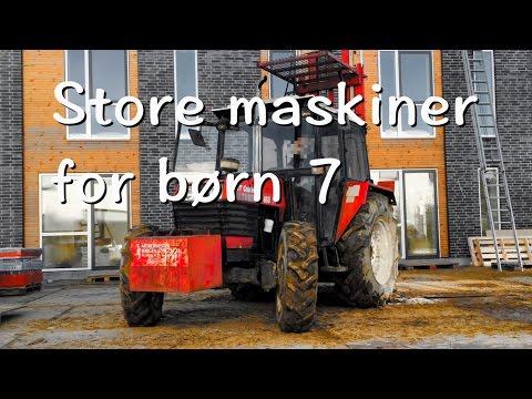 Store maskiner for børn 7