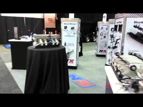 NX booth at the PRI Show 2013
