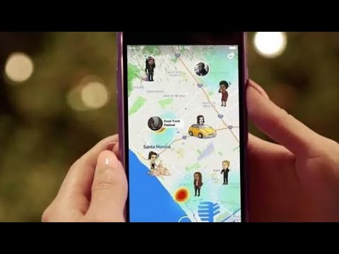 Snapchat- Snap Map