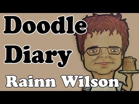 Doodle Diary: Rainn Wilson