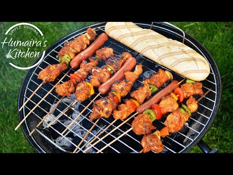 Chicken Tikka Boti - Shish Taouk - Eid Special Recipe - Grilled Tandoori Tikka in Oven