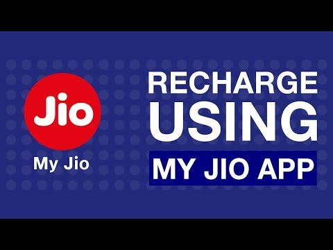 How to Recharge using My Jio App | Reliance Jio