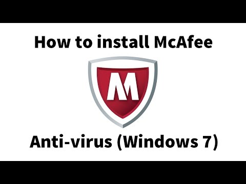 How to install McAfee antivirus - Windows 7 (Student/Faculty)