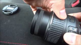 Nikon Nikkor 18-55mm VRII Lens Review-Retractable With Vibration Reduction