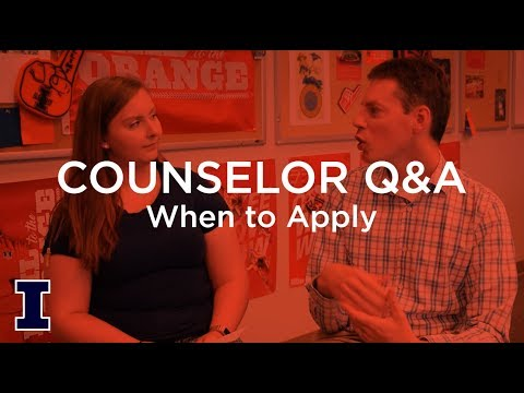 Ask Admissions: When should I apply to Illinois?