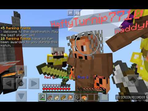 Playing mini games on the SG Lifeboat Server!!!!!!!