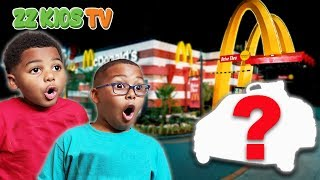 Download CUTE MONSTER DRIVES TO MCDONALDS!  What Should We Do? Vlogskit