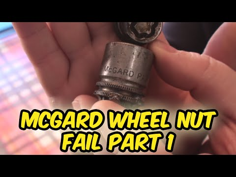 McGard Locking Wheel Nut Fail How To Remove  Part 1