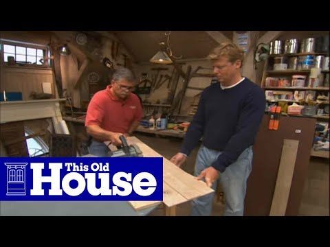 How to Make a Circular Saw Guide - This Old House