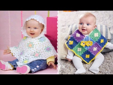 Best Ideas About Crochet Baby Poncho 💓 ᴴᴰ █▬█