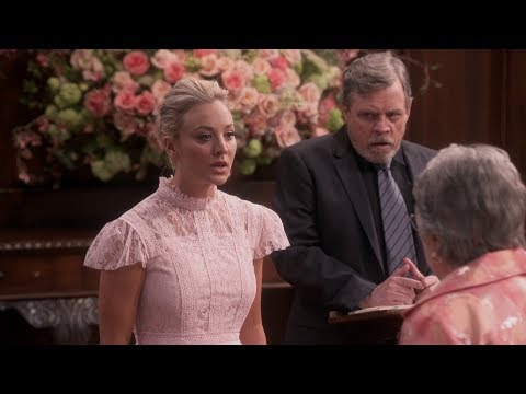 The Big Bang Theory - Luke Skywalker performs the wedding ceremony for Sheldon and Amy Cooper