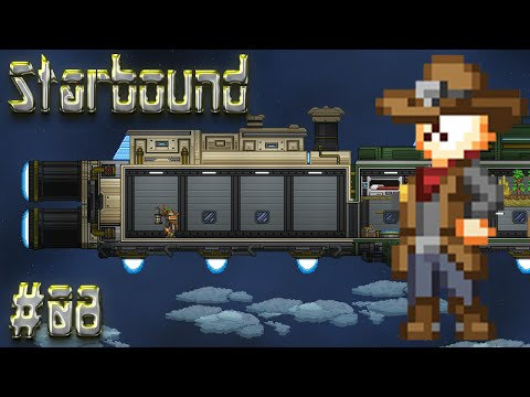 Let's Play Starbound - Episode 8: Quests, Armor, & Ship Upgrades!!