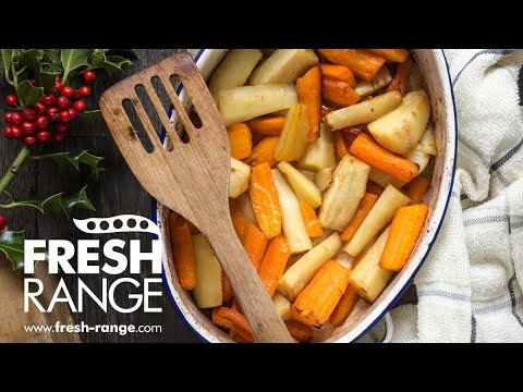 Honey Roast Carrots and Parsnips Recipe