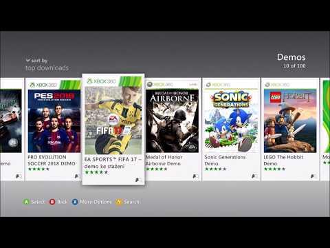Xbox 360 dema zdarma ke stažení (Free demos)