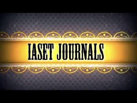 IASET Journals: High Impact Factor & Indexed International Journal
