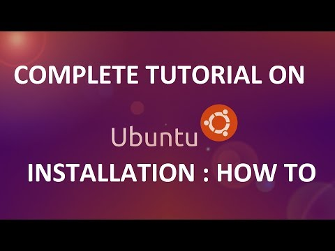 How To Install Linux Ubuntu with partition: TUTORIAL