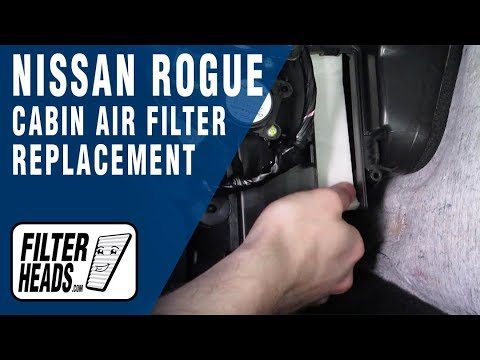 How to Replace Cabin Air Filter Nissan Rogue