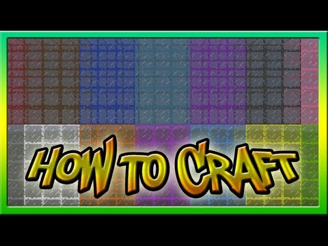 How To Make Stained Glass In Minecraft 1.7