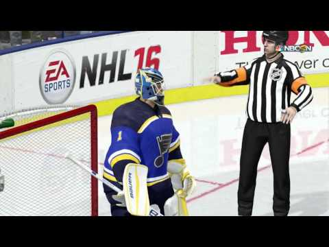 NHL 16 Shootout Commentary #1
