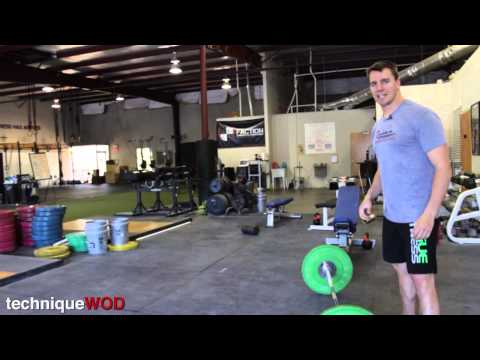 Snatch and Clean Stance and Grip Adjustments For Tall People With Long Arms - TechniqueWOD 94