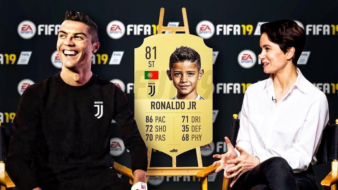 CARDS FIFA DOS FILHOS DE JOGADORES FAMOSOS!