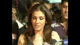 Raveena Tandon Ali Zafar at Dadasaheb Phalke Awards