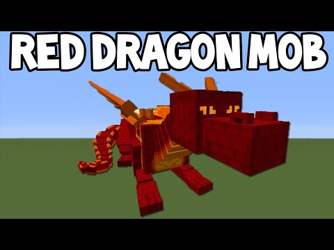 Minecraft 1.9 Update! - New RED DRAGON Boss + More Feature Info!