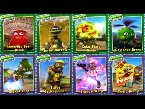 Plants vs. Zombies: Garden Warfare - All New Abilities Gameplay
