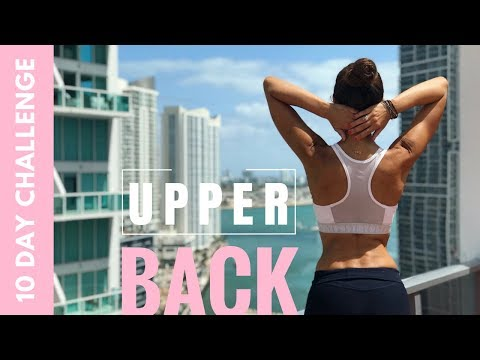 Eliminate Upper Back Rolls in 10 days |  Eliminate Fat under Armpits 10 Day Challenge