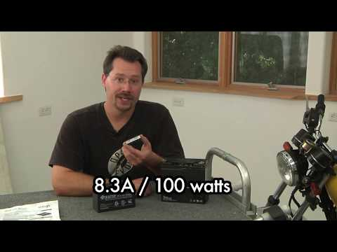 13 Build Your Own Electric Motorcycle - FULL - 13 The Cycle 12V System
