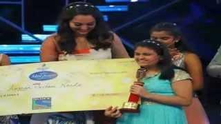 indian idol junior  winner 2015 Ananya on grand finale