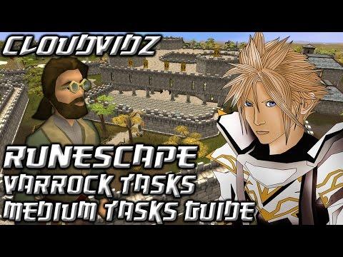 Runescape Varrock Medium Tasks Guide HD