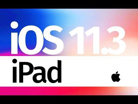 How to Update to iOS 11.3 - iPad mini iPad Pro iPad Air iPad 5
