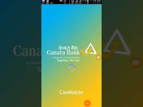 How to use Canara bank upi app