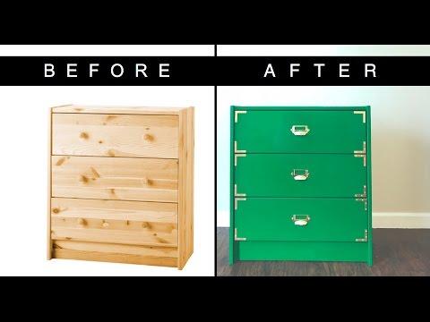 IKEA HACK | CAMPAIGN DRESSER DIY